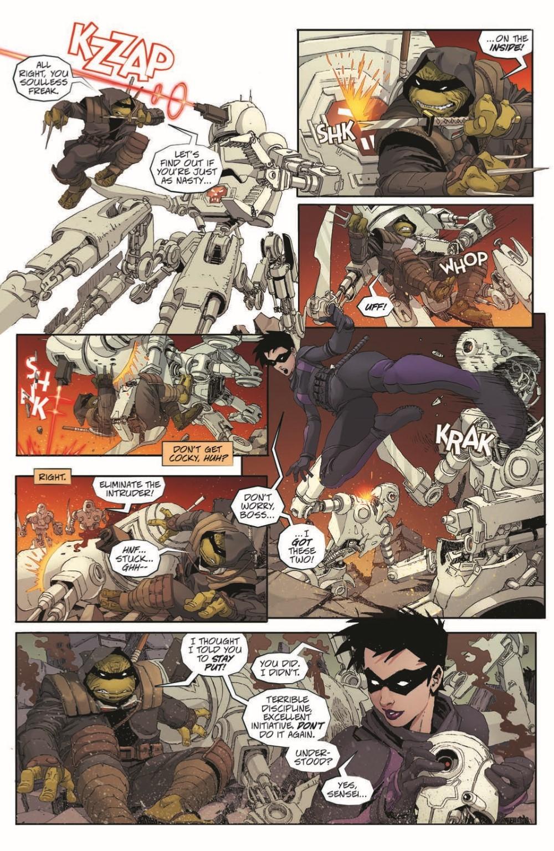 TMNT-LastRonin04_pr-7 ComicList Previews: TEENAGE MUTANT NINJA TURTLES THE LAST RONIN #4 (OF 5)