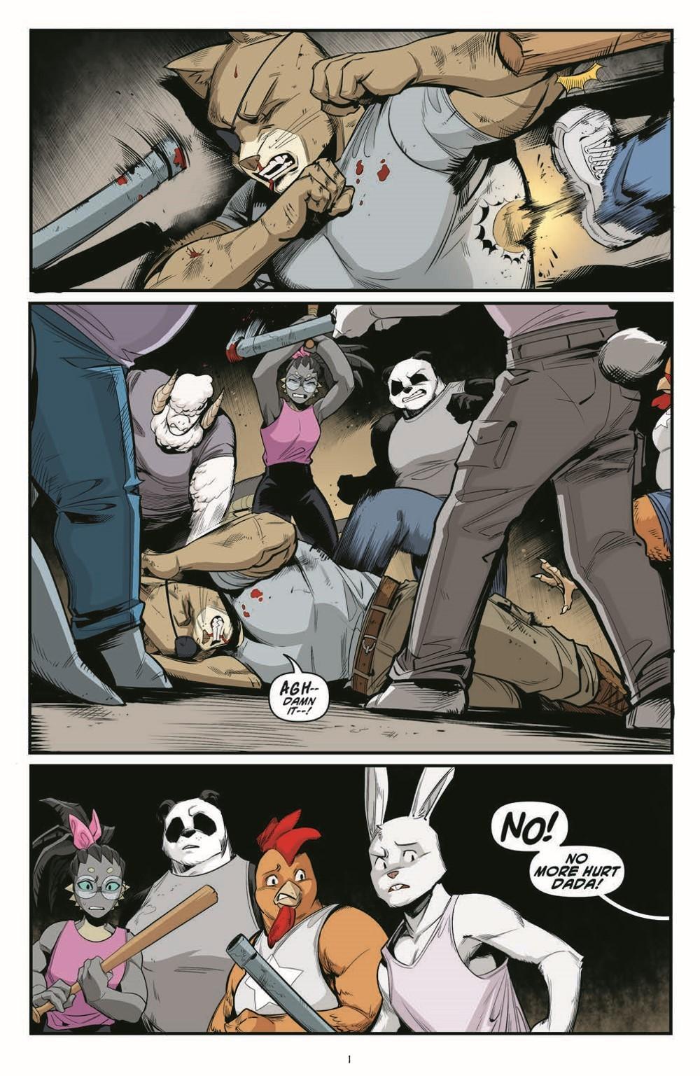 TMNT121_pr-3 ComicList Previews: TEENAGE MUTANT NINJA TURTLES #121