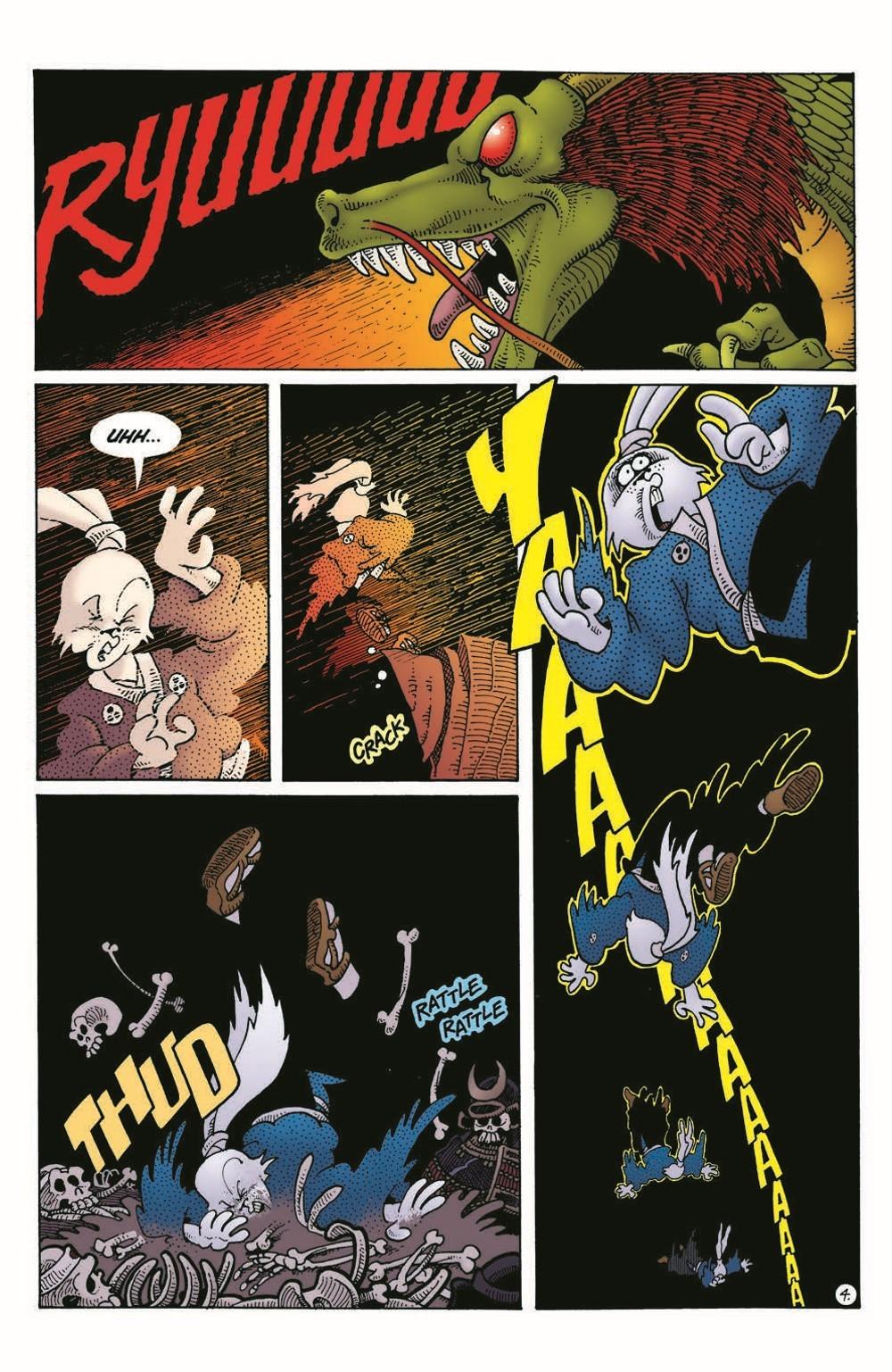Usagi-DBC04_pr-6 ComicList Previews: USAGI YOJIMBO THE DRAGON BELLOW CONSPIRACY #4 (OF 6)