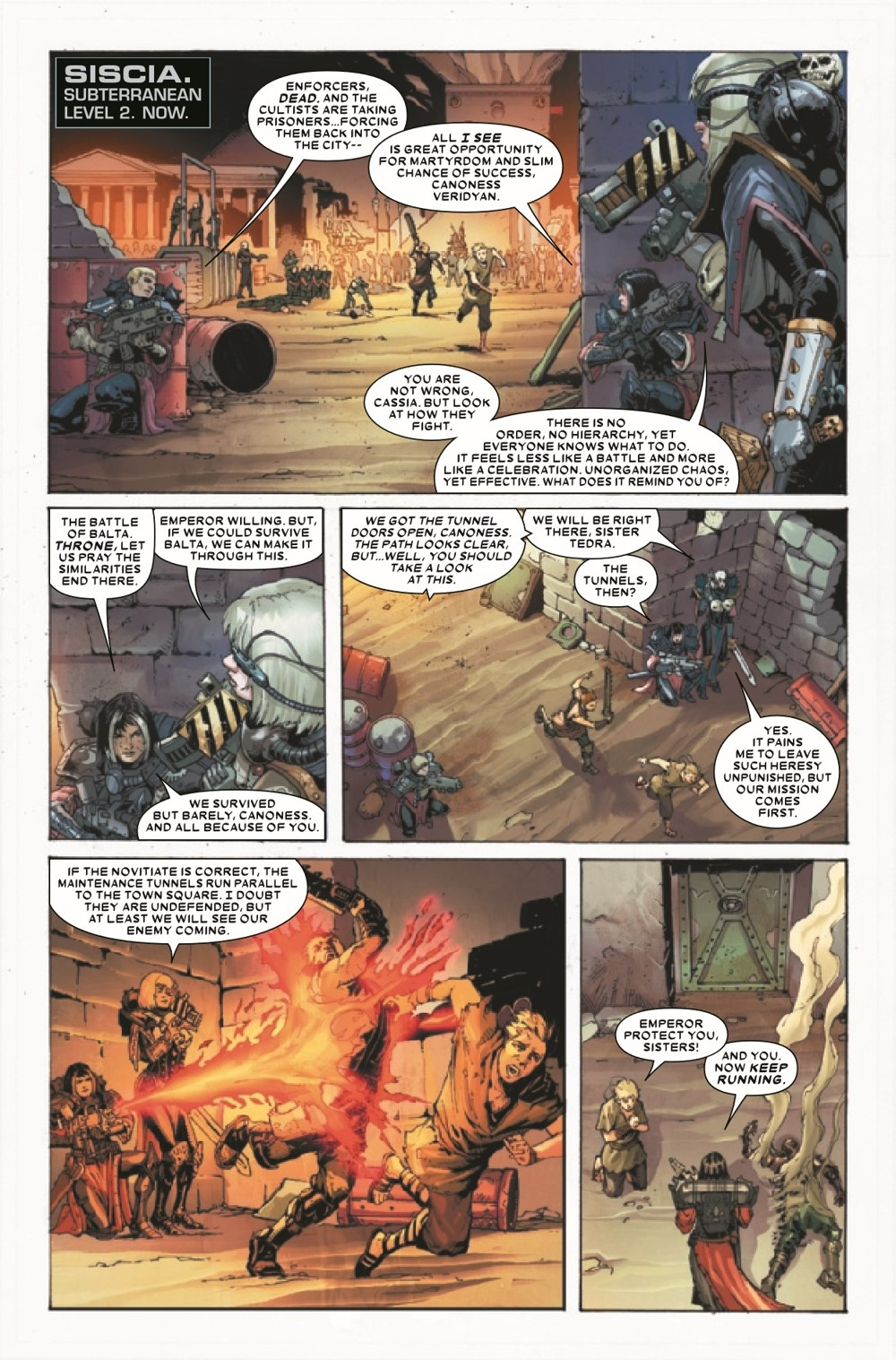 WARHAMMERSOB2021002_Preview-3 ComicList Previews: WARHAMMER 40000 SISTERS OF BATTLE #2 (OF 5)