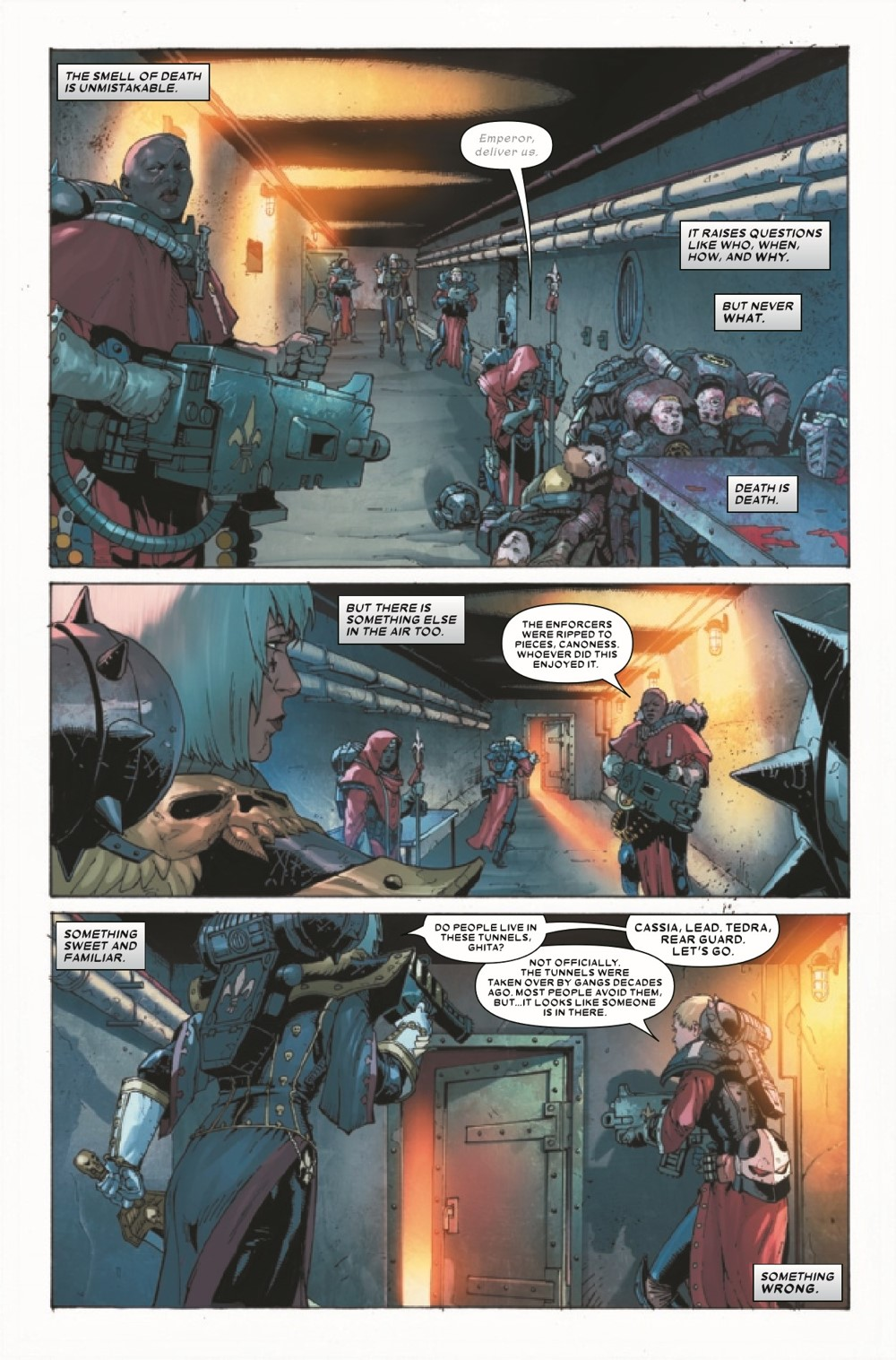 WARHAMMERSOB2021002_Preview-4 ComicList Previews: WARHAMMER 40000 SISTERS OF BATTLE #2 (OF 5)