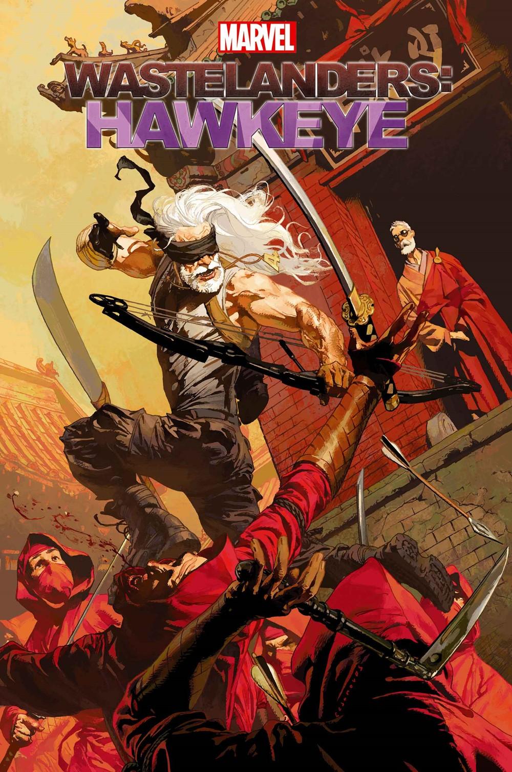 WASTELHAWKEYE2021001 Marvel Comics December 2021 Solicitations