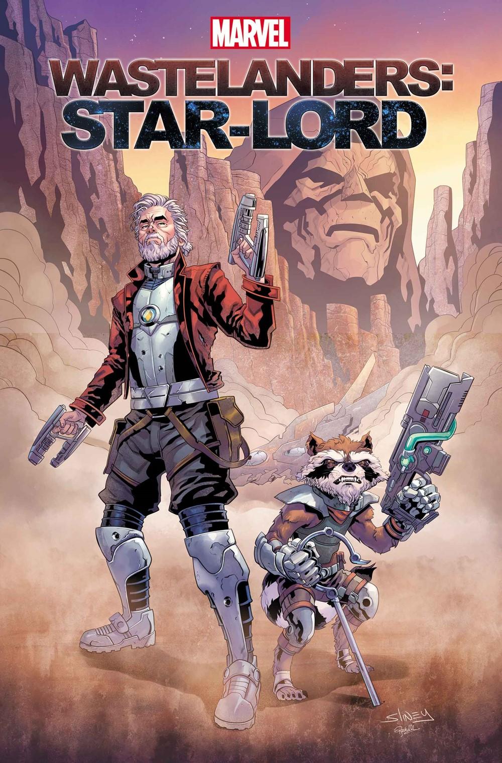 WASTELSTARLORD2021001_Sliney Marvel Comics December 2021 Solicitations