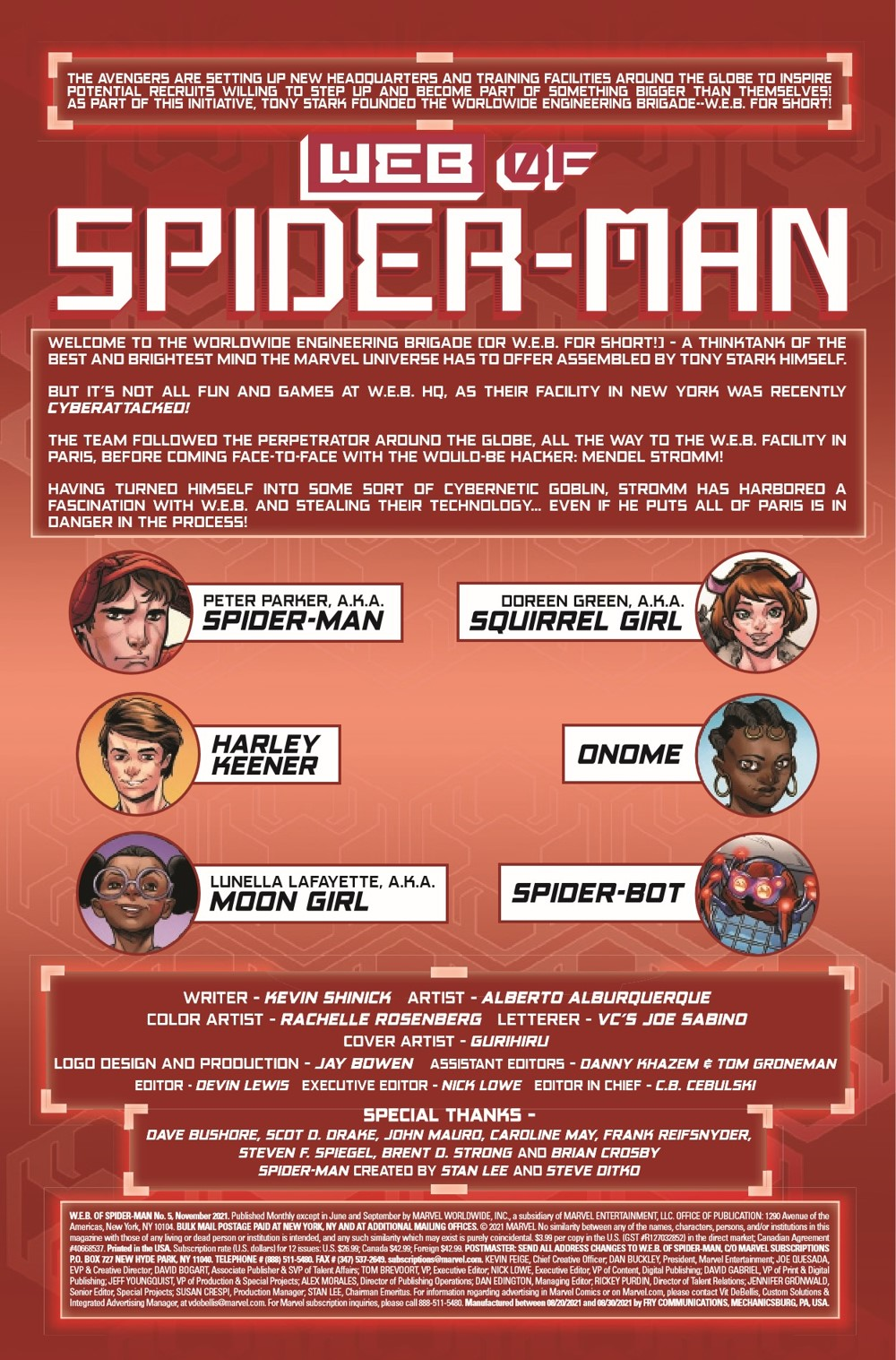 WEBOFSM2020005_Preview-2 ComicList Previews: W.E.B. OF SPIDER-MAN #5 (OF 5)