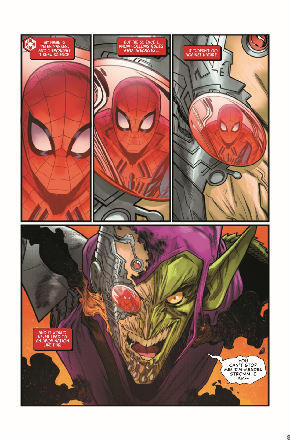 WEBOFSM2020005_Preview-3 ComicList Previews: W.E.B. OF SPIDER-MAN #5 (OF 5)