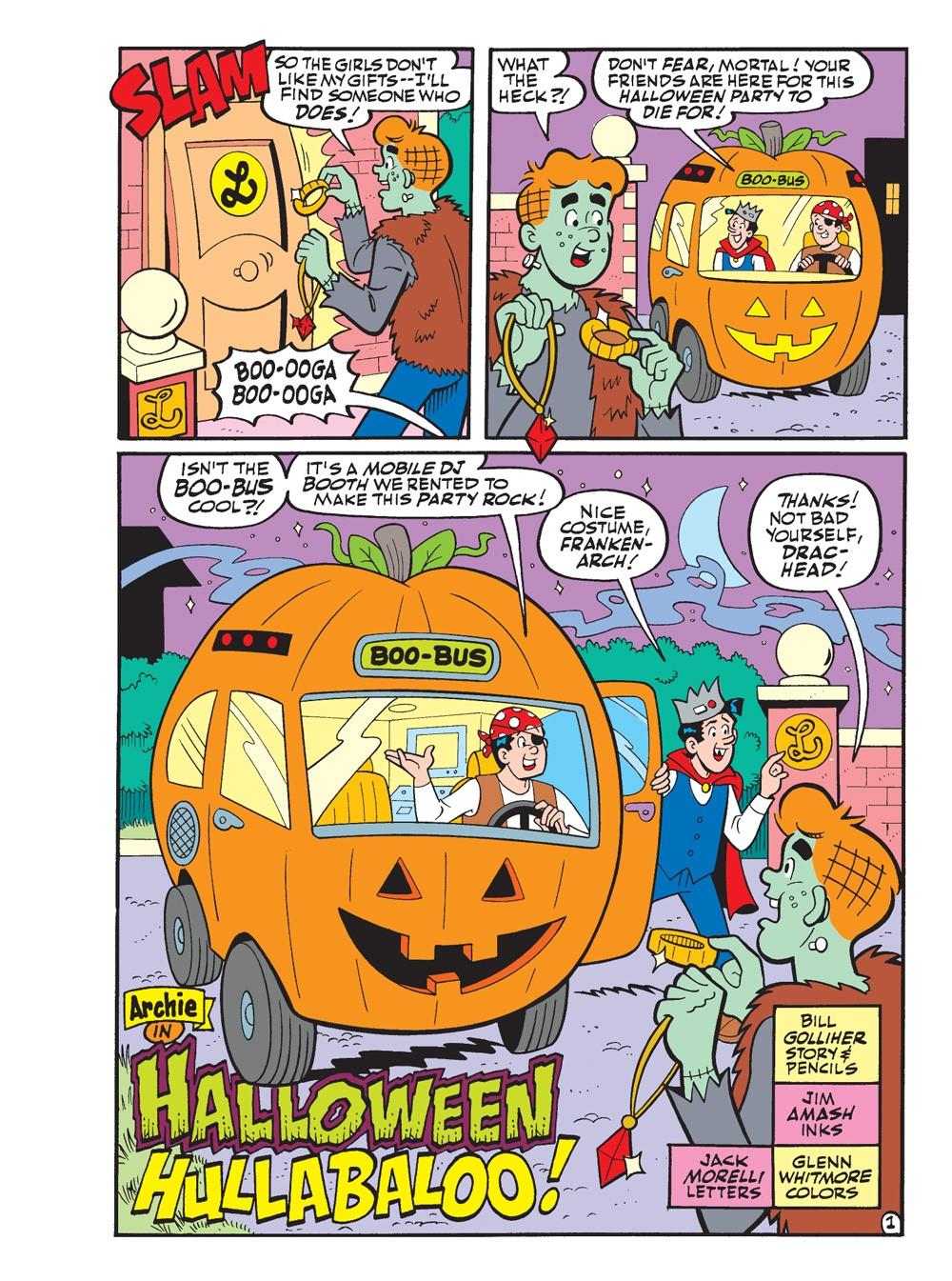 WorldOfArchieJumboComicsDigest_113-2 ComicList Previews: WORLD OF ARCHIE JUMBO COMICS DIGEST #113