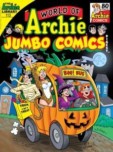 WorldOfArchieJumboComicsDigest_113_Cover_Golliher-223x300 ComicList Previews: WORLD OF ARCHIE JUMBO COMICS DIGEST #113