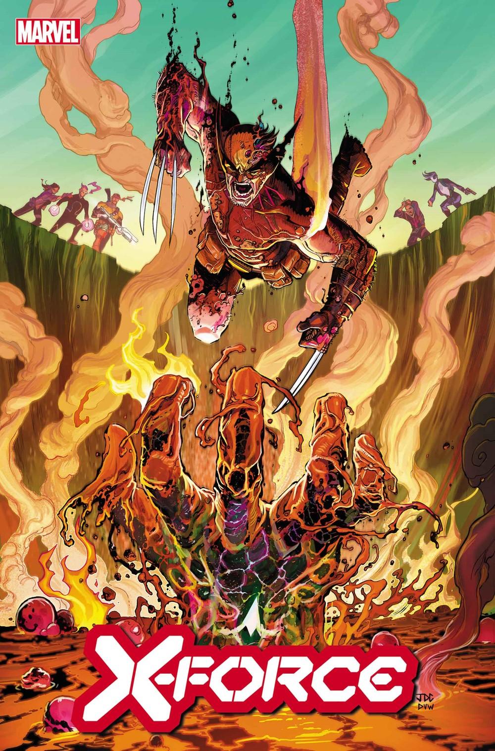 XFORCE2019026_cov Marvel Comics December 2021 Solicitations