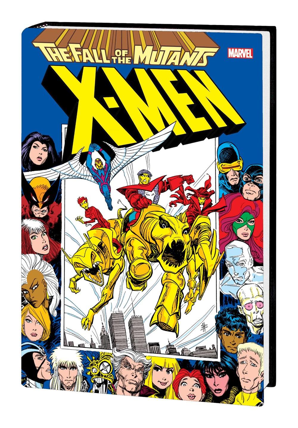 XMFALLOMNIHC_2NDEDVAR_dstkt Marvel Comics December 2021 Solicitations