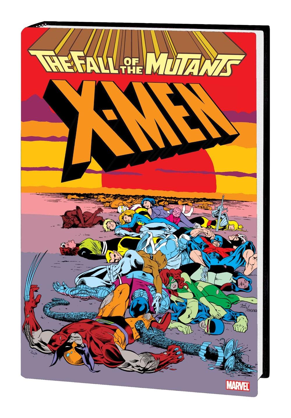 XMFALLOMNIHC_2NDED_dstkt Marvel Comics December 2021 Solicitations