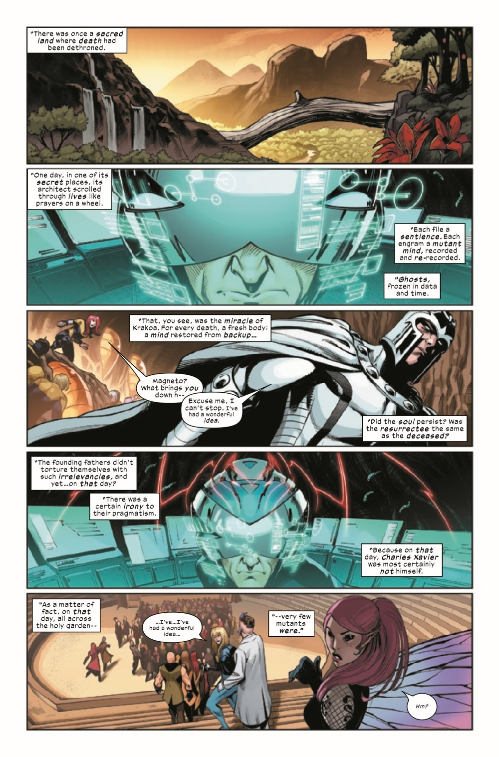 XMNONREVEL2021001_Preview-2 ComicList Previews: X-MEN THE ONSLAUGHT REVELATION #1