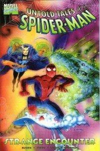 eyJidWNrZXQiOiJnb2NvbGxlY3QuaW1hZ2VzLnB1YiIsImtleSI6ImI1NjRlMGQwLTdkYTctNDMxOC1iMmQ3LTAxMjE4NjI2YzZkMS5qcGciLCJlZGl0cyI6W119-199x300 A Strange History: Dr. Strange and Spider-Man Comic Team-Ups