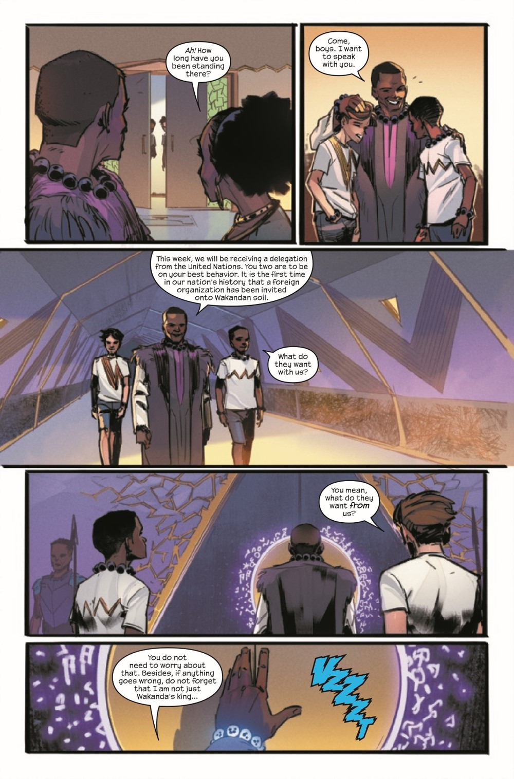 BLAPLEG2021001_Preview-6 ComicList Previews: BLACK PANTHER LEGENDS #1 (OF 4)
