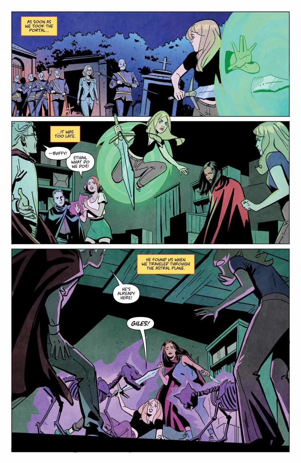 Buffy_030_PRESS_3 ComicList Previews: BUFFY THE VAMPIRE SLAYER #30