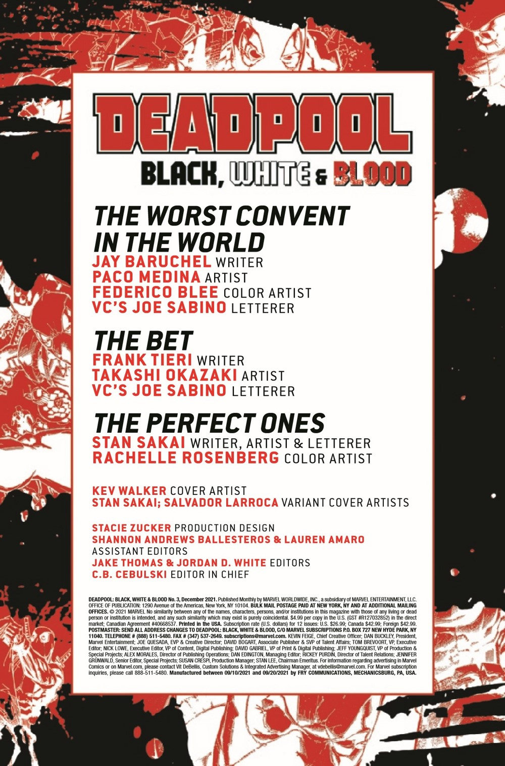 DPOOLBLKWHBL2021003_Preview-2 ComicList Previews: DEADPOOL BLACK WHITE AND BLOOD #3 (OF 4)