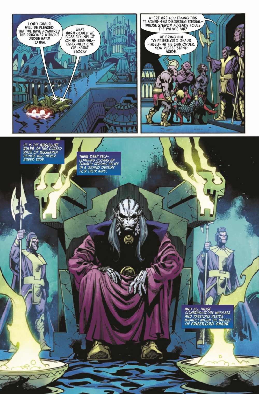 ETRNLSFOREVER2021001_Preview-5 ComicList Previews: ETERNALS FOREVER #1