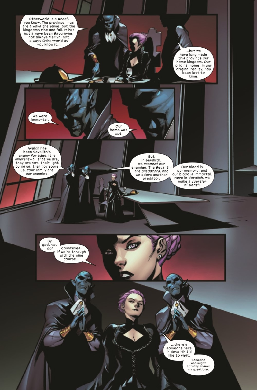 EXCAL2019024_Preview-4 ComicList Previews: EXCALIBUR #24