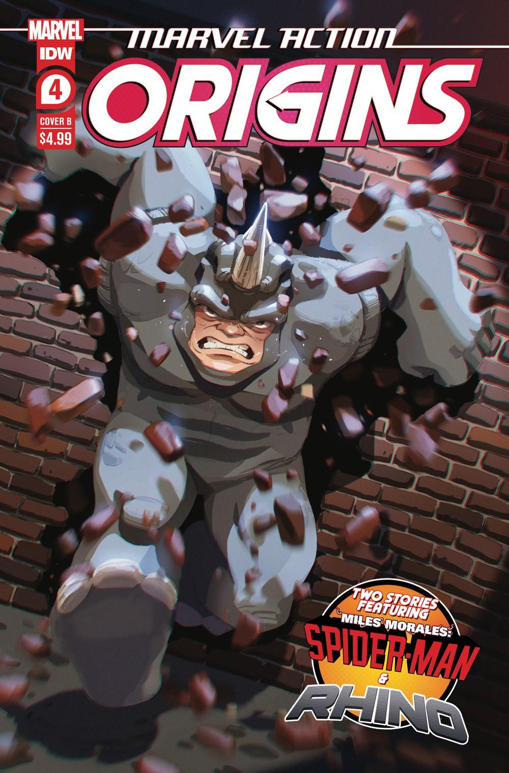 MA-Origins04_cvrB ComicList Previews: MARVEL ACTION ORIGINS #4 (OF 5)