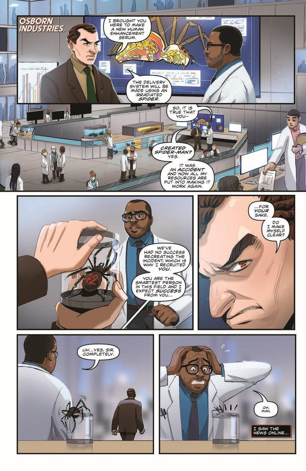 MA-Origins04_pr-3 ComicList Previews: MARVEL ACTION ORIGINS #4 (OF 5)