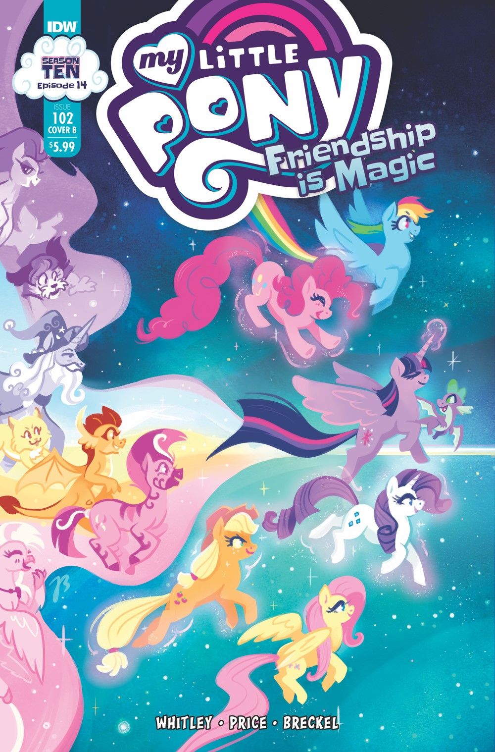 MLP102_14-coverB ComicList: IDW Publishing New Releases for 10/13/2021