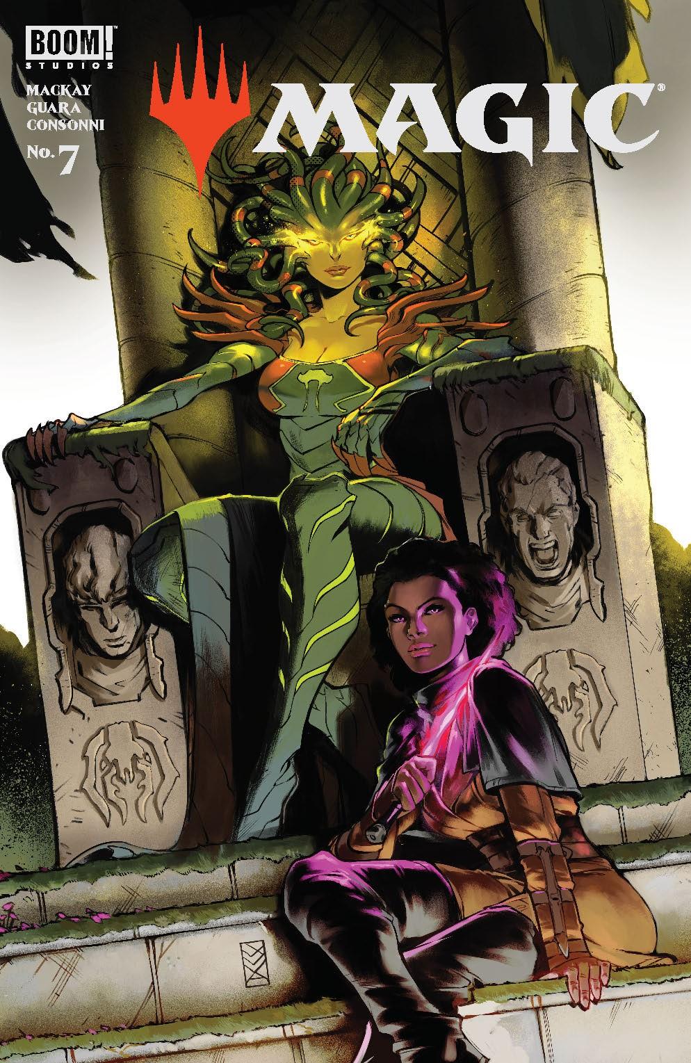 Magic_007_Cover_B_Variant ComicList: BOOM! Studios New Releases for 10/06/2021