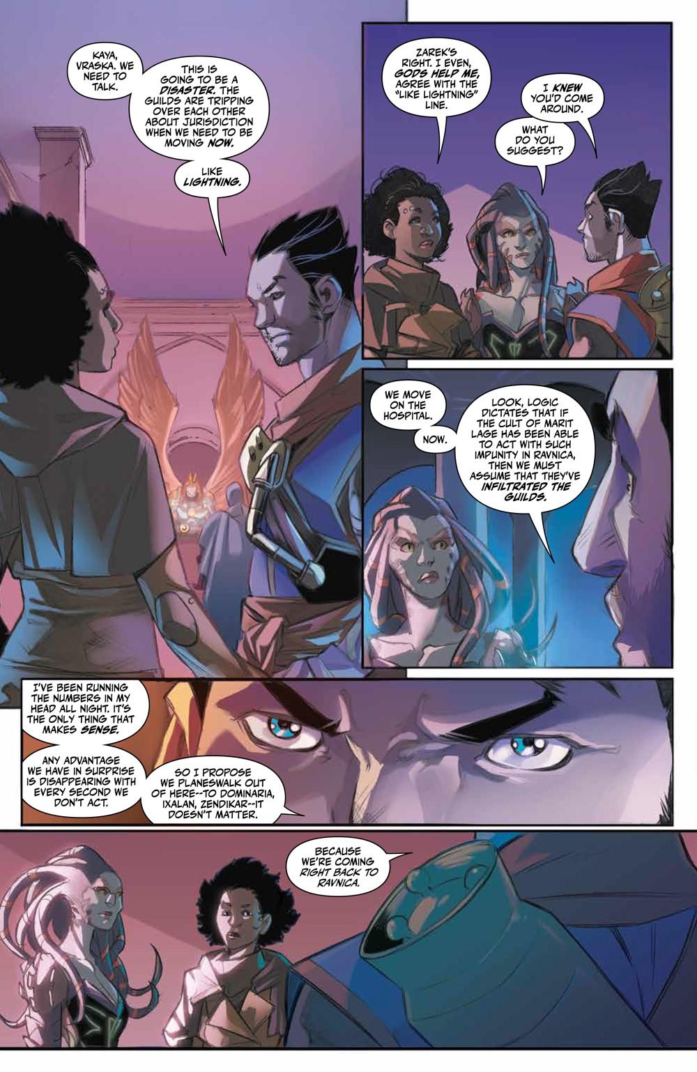 Magic_007_PRESS_5 ComicList Previews: MAGIC #7