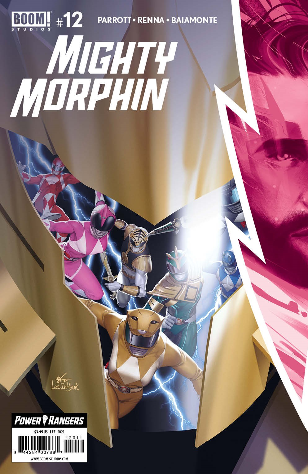 MightyMorphin_012_Cover_A_Main ComicList Previews: MIGHTY MORPHIN #12
