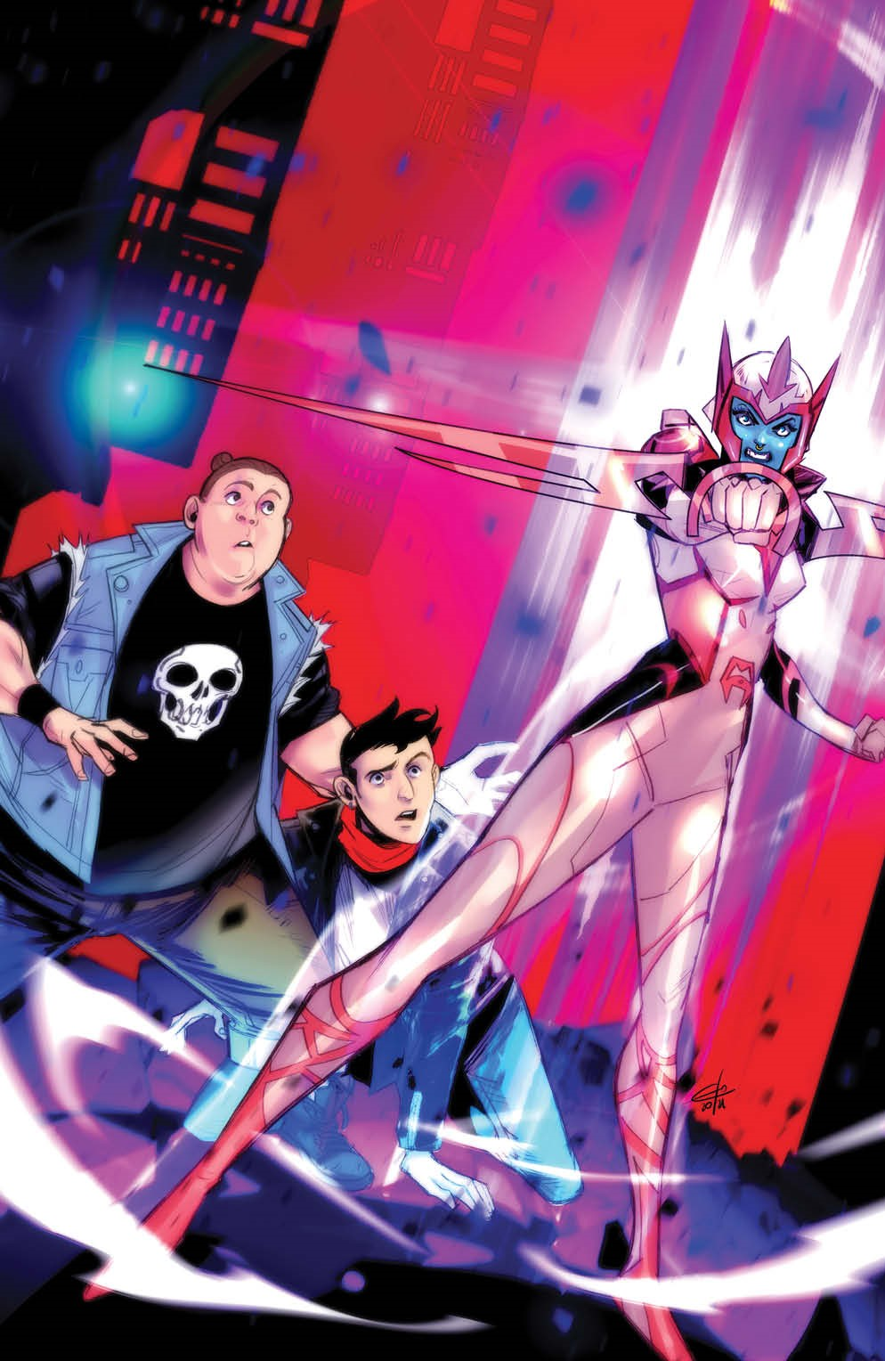 MightyMorphin_012_Cover_D_Variant_Undressed ComicList Previews: MIGHTY MORPHIN #12