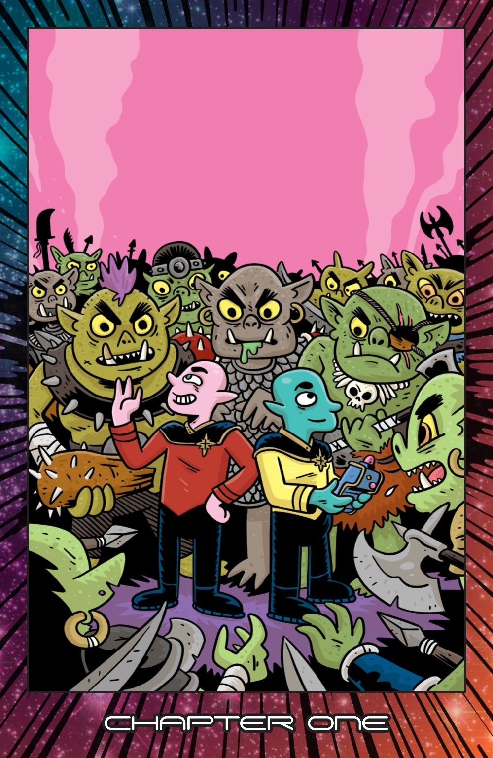ORCSINSPACE-V1-REFERENCE-006 ComicList Previews: ORCS IN SPACE VOLUME 1 TP