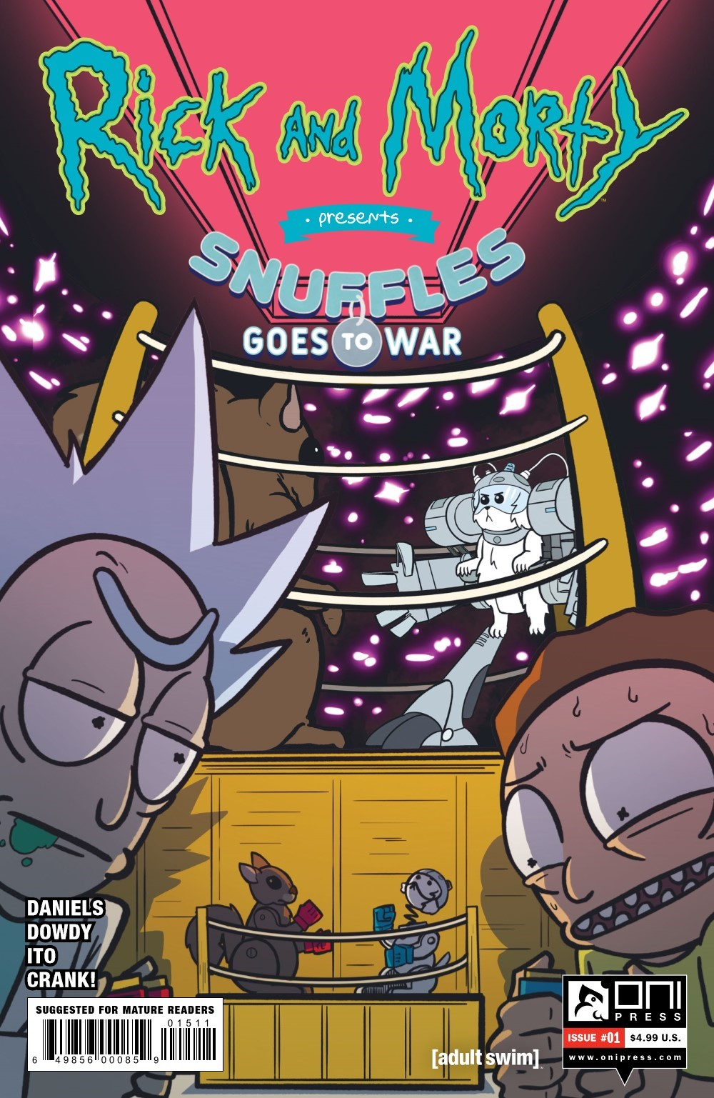 RM-PRES-SNUFFLES-1-REFERENCE-01 ComicList Previews: RICK AND MORTY PRESENTS SNUFFLES GOES TO WAR #1