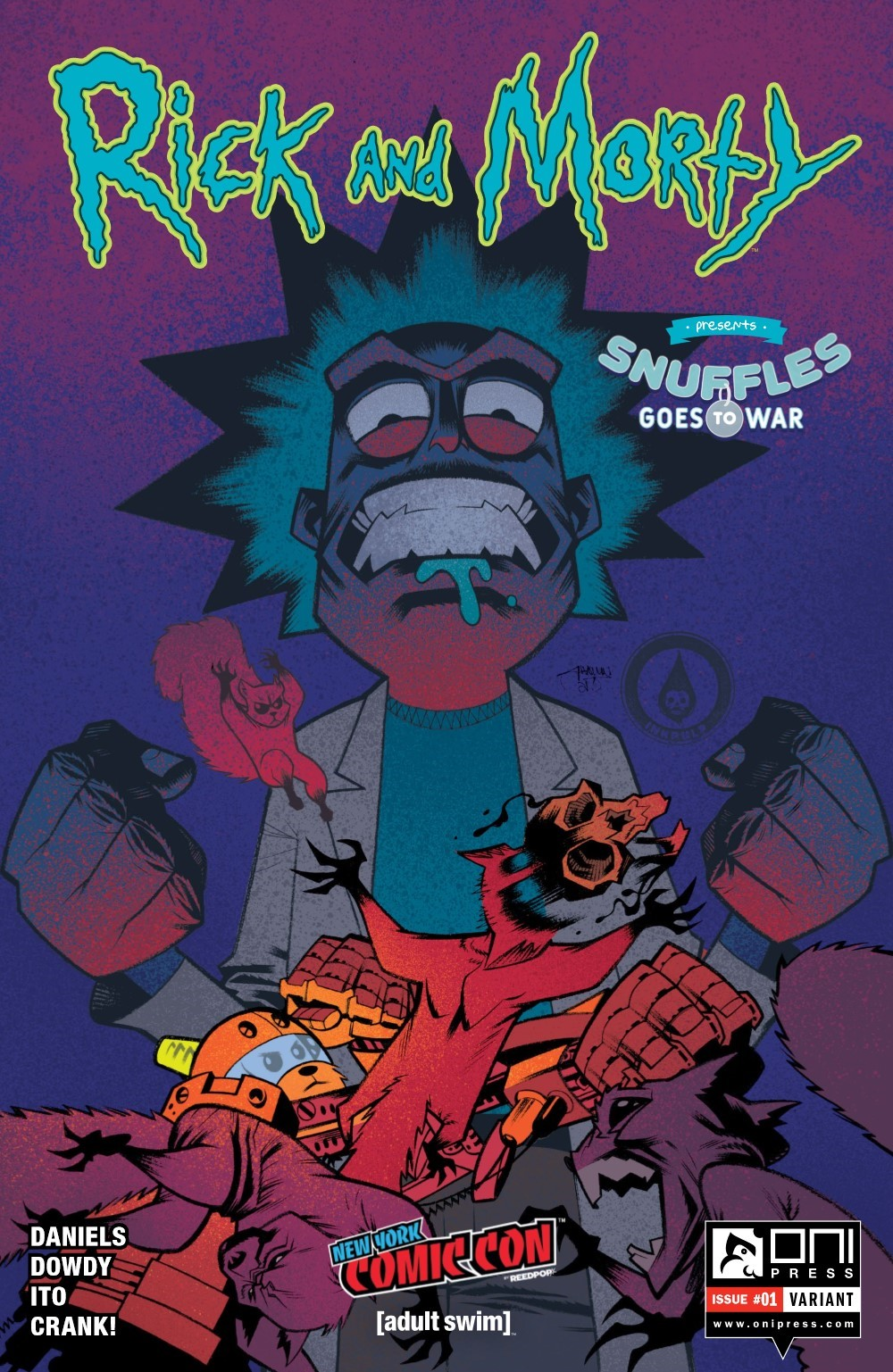RM-PRES-SNUFFLES-1-REFERENCE-04 ComicList Previews: RICK AND MORTY PRESENTS SNUFFLES GOES TO WAR #1