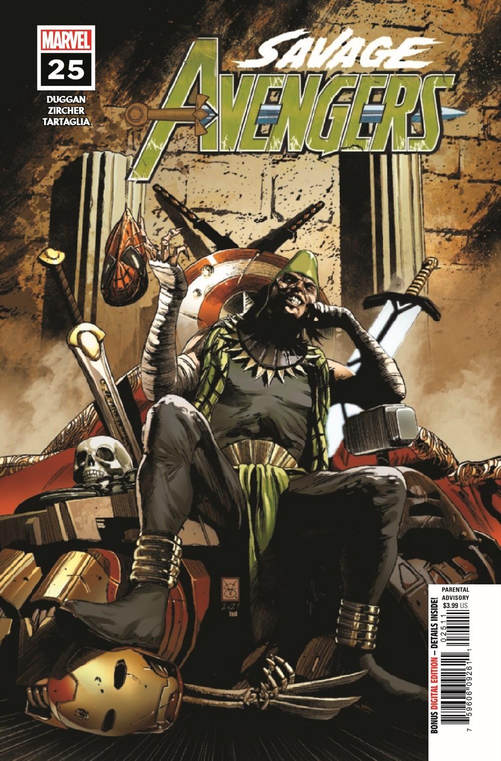 SAVAVEN2019025_Preview-1 ComicList Previews: SAVAGE AVENGERS #25