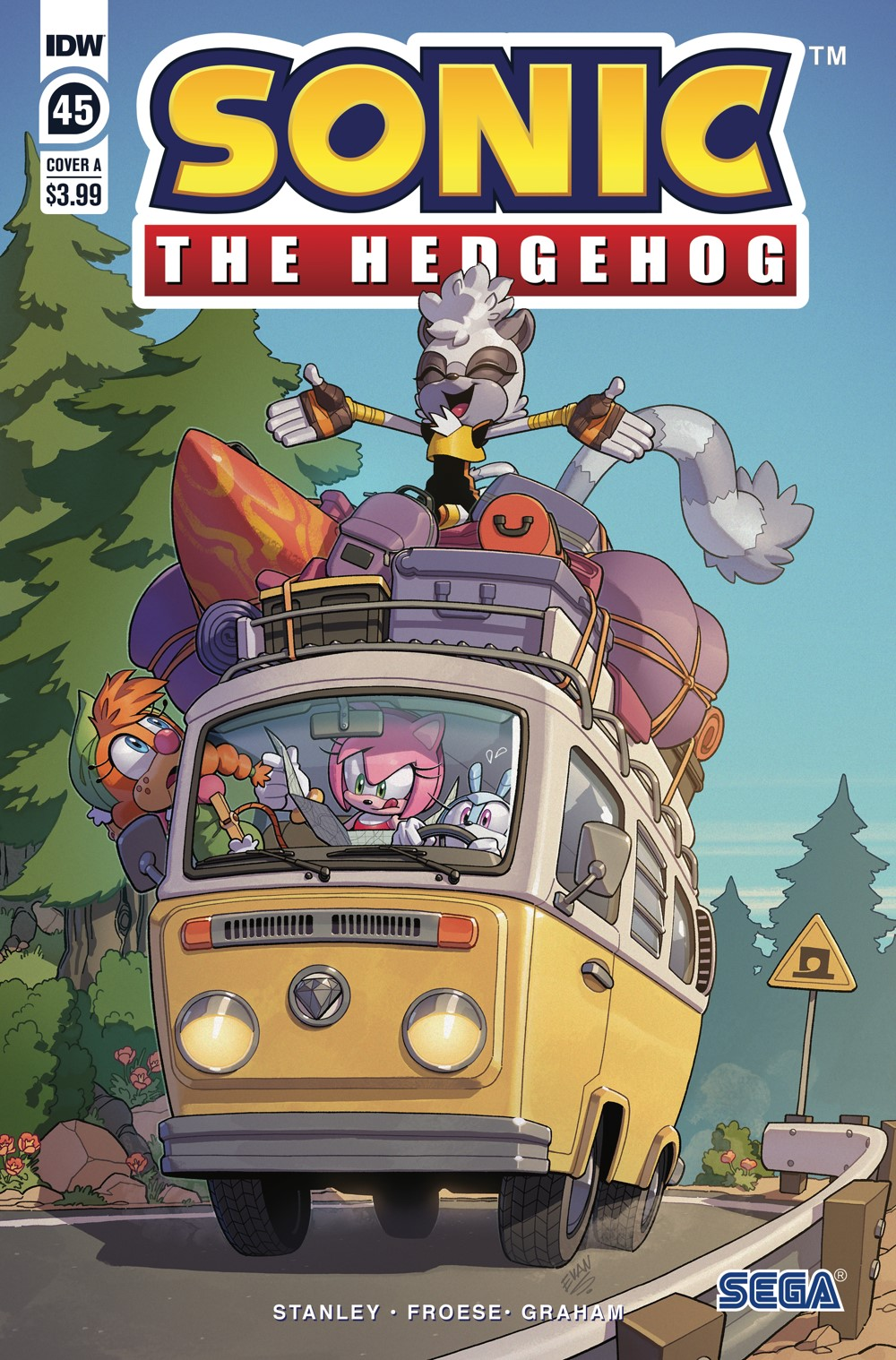 STH45_cvrA ComicList: IDW Publishing New Releases for 10/13/2021
