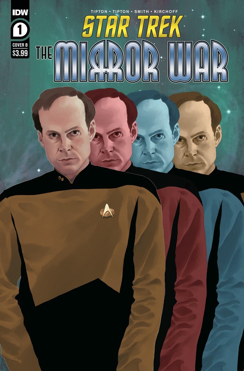ST_TMW01-coverB ComicList Previews: STAR TREK THE MIRROR WAR #1