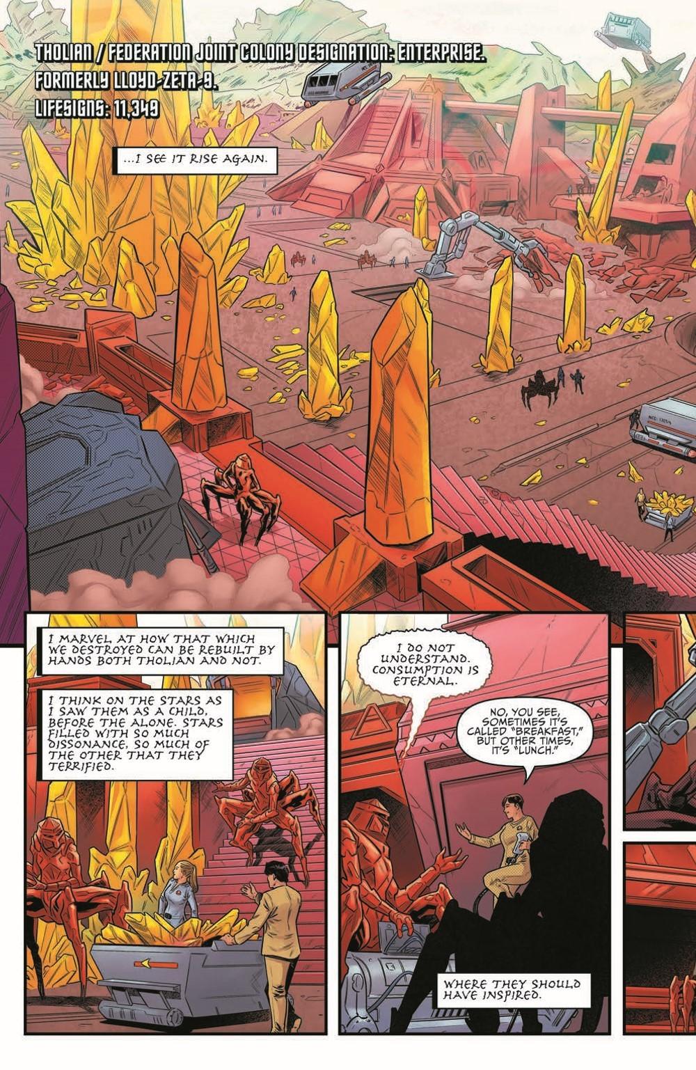 ST_YearFive25-pr-4 ComicList Previews: STAR TREK YEAR FIVE #25