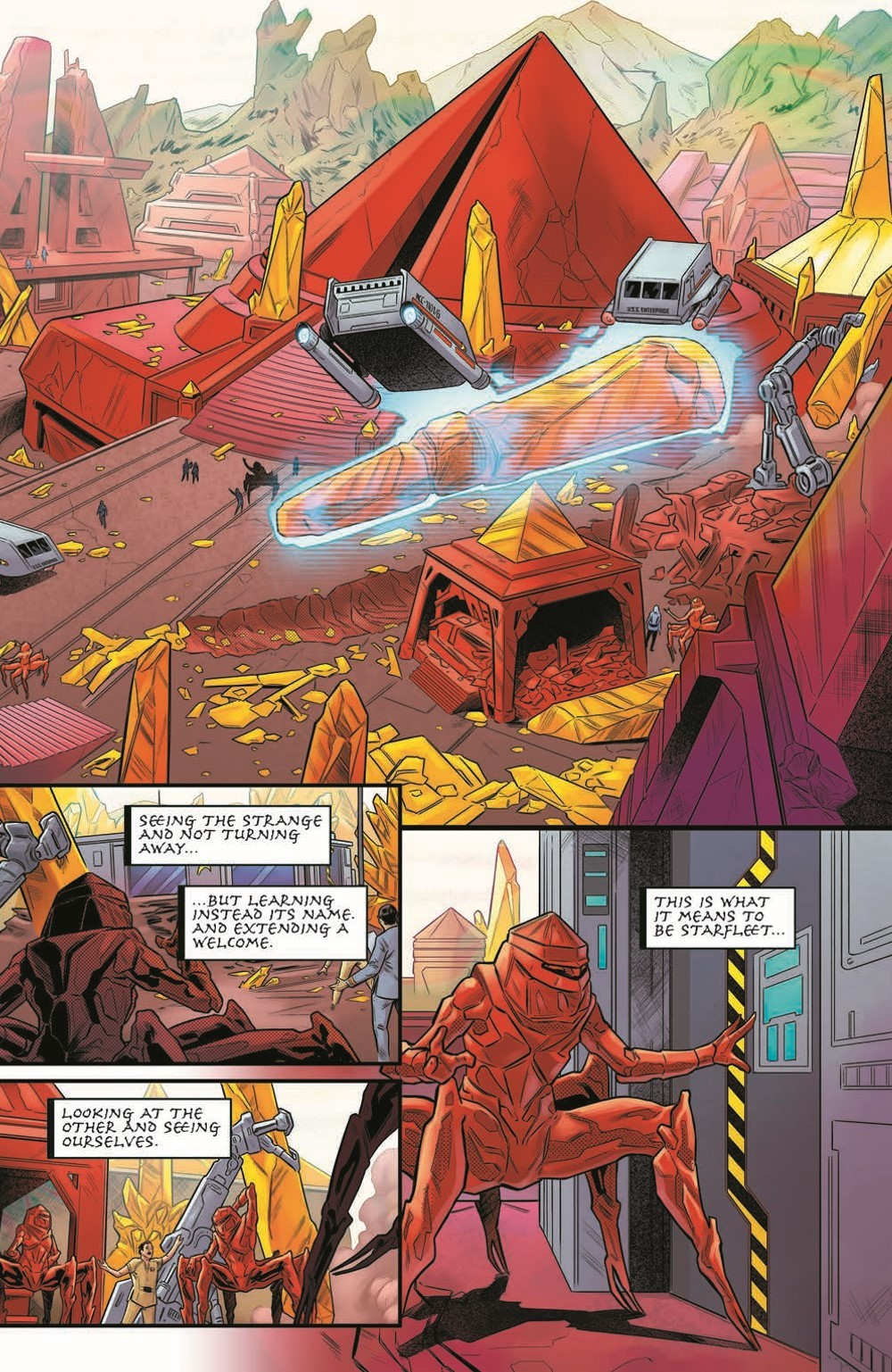 ST_YearFive25-pr-5 ComicList Previews: STAR TREK YEAR FIVE #25