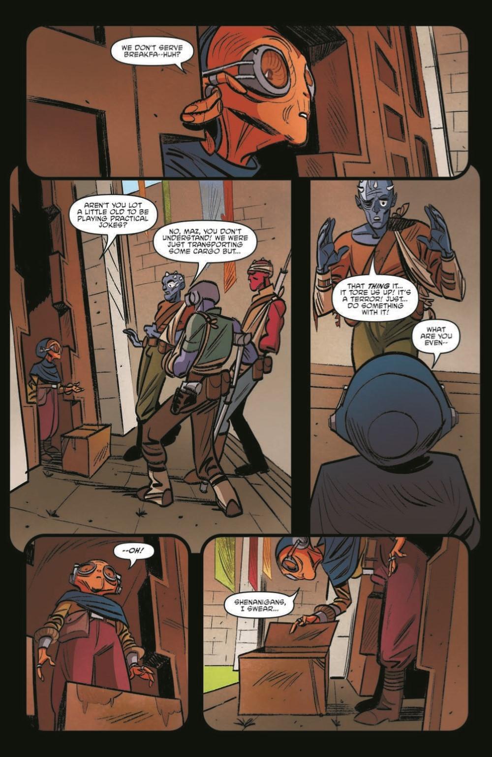 SWAHRA09-pr-5 ComicList Previews: STAR WARS THE HIGH REPUBLIC ADVENTURES #9