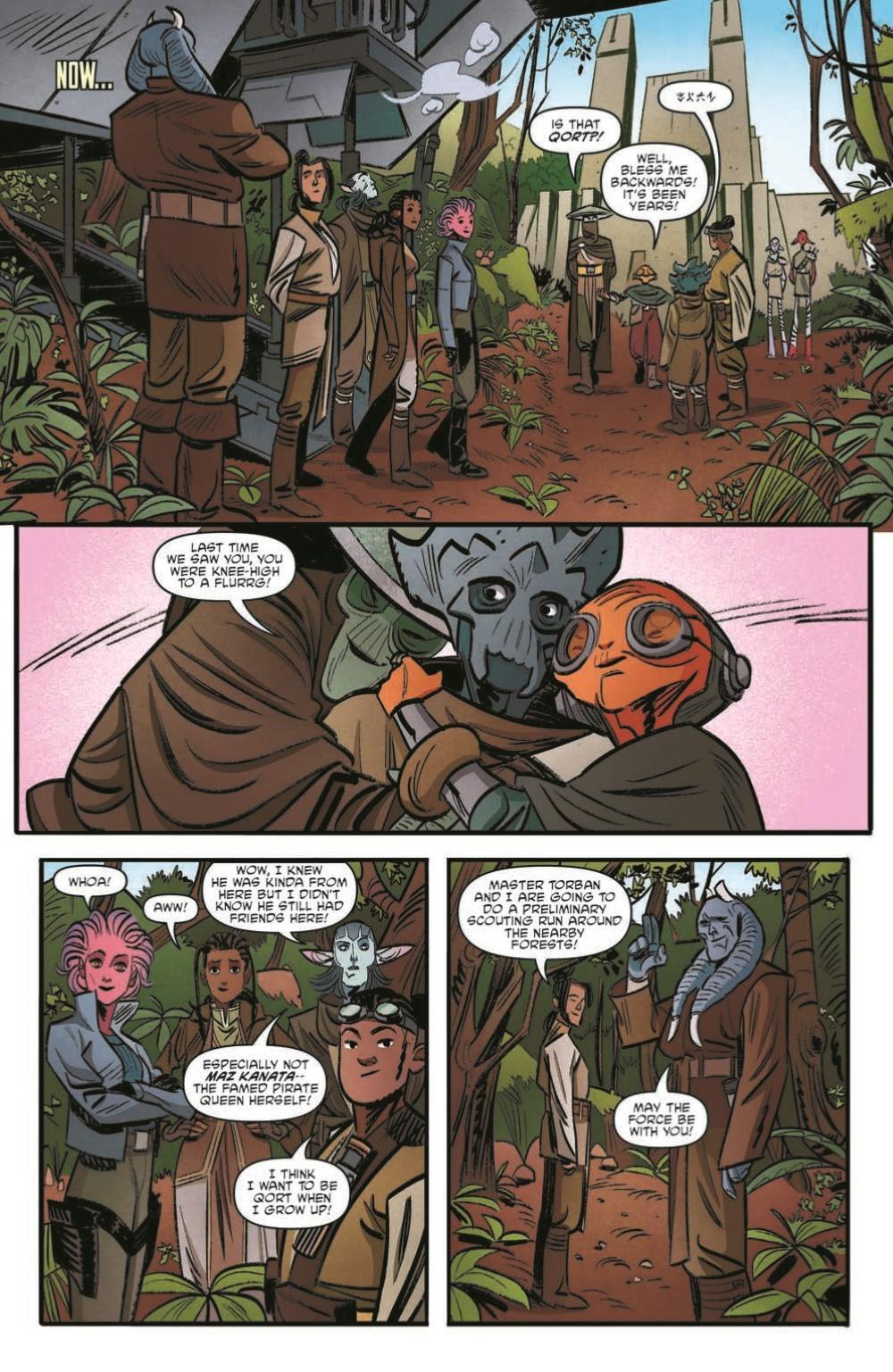 SWAHRA09-pr-7 ComicList Previews: STAR WARS THE HIGH REPUBLIC ADVENTURES #9