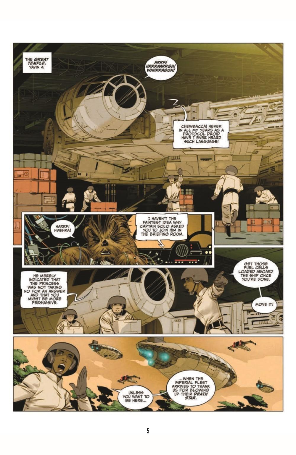 SWA_Smugglers-Run_pr-3 ComicList Previews: STAR WARS ADVENTURES SMUGGLER'S RUN TP