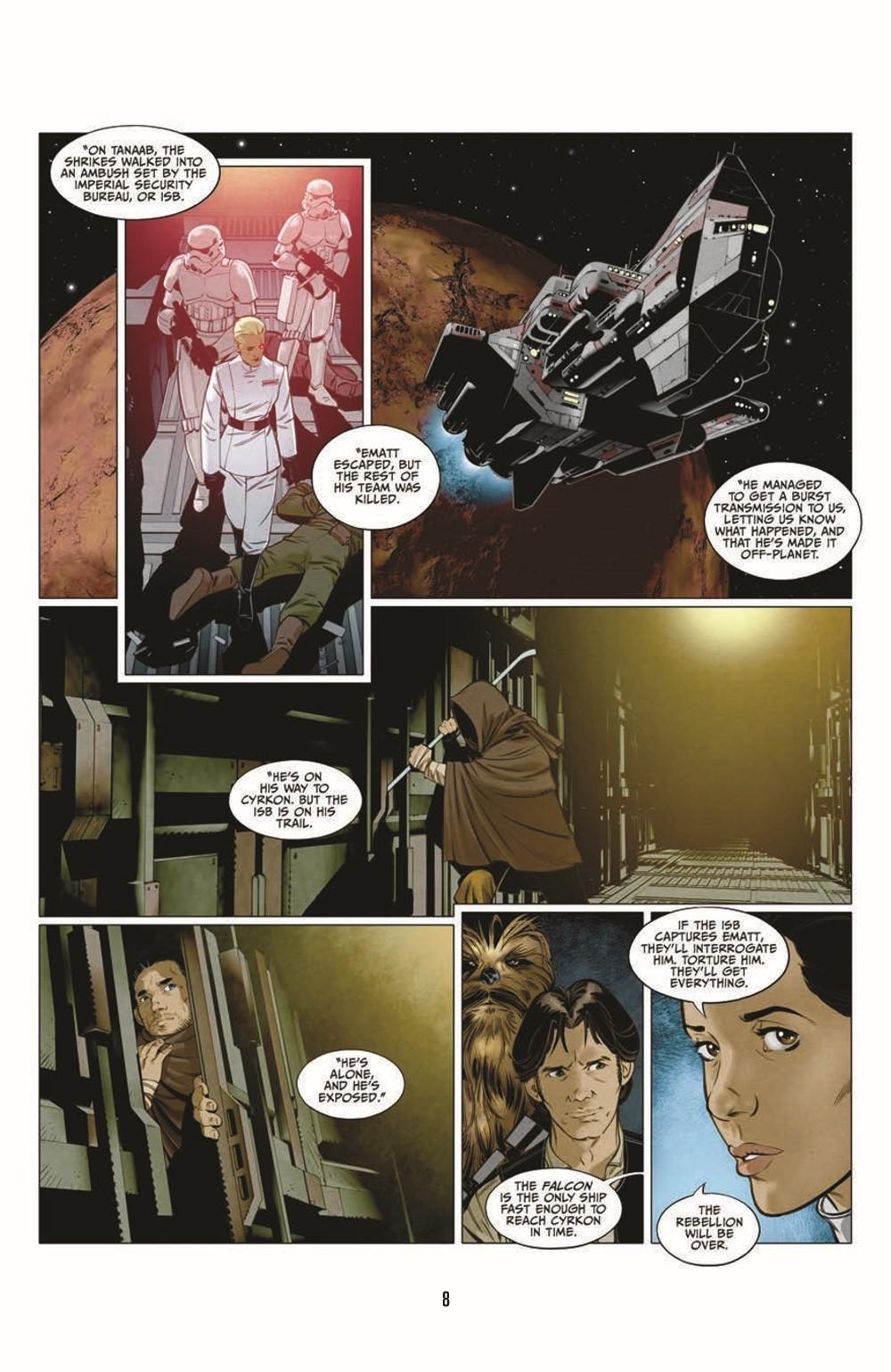 SWA_Smugglers-Run_pr-6 ComicList Previews: STAR WARS ADVENTURES SMUGGLER'S RUN TP
