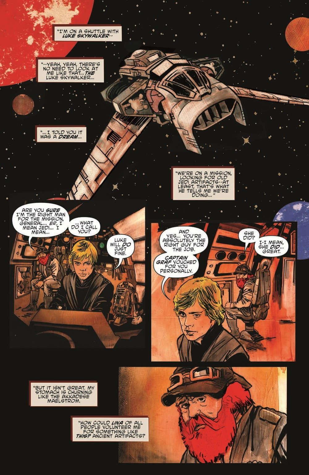SW_GoVC03_pr-6 ComicList Previews: STAR WARS ADVENTURES GHOST OF VADER'S CASTLE #3 (OF 5)