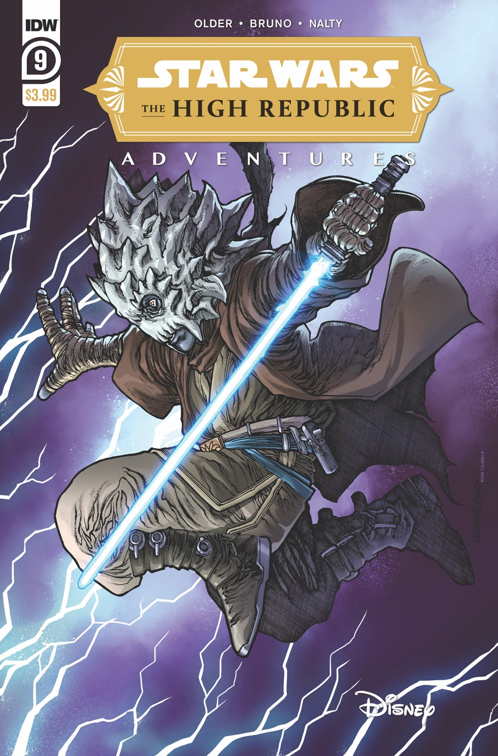 StarWarsHighRepublic-09-A ComicList: IDW Publishing New Releases for 10/06/2021