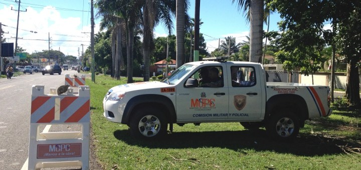 highway patrol in Sosua and Cabarete