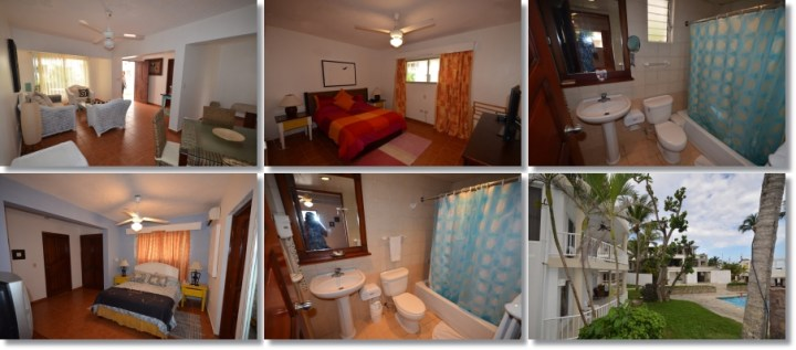 affordable unit at Kite Beach Condos in Cabarete, DR