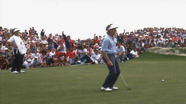 Bernard Langer, 1991 Ryder Cup, image: golf.com