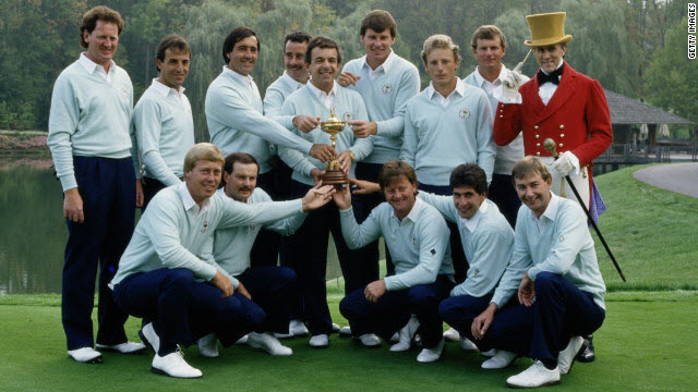 Muirfield Village, 1987 Ryder Cup, image: edition.cnn.com