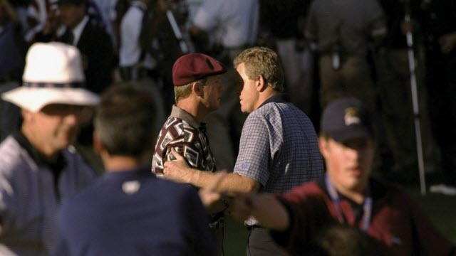Payne Stewart & Colin Montgomerie, 1999 Ryder Cup, image: themajorsofgolf.com