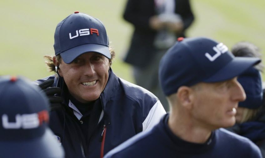 Phil Mickelson & Jim Furyk Part of Ryder Cup Task Force, image: nydailynews.com