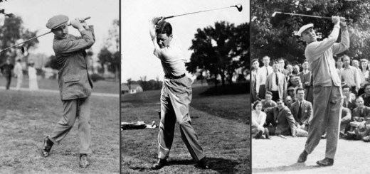 Harry Vardon, Byron Nelson & Ben Hogan