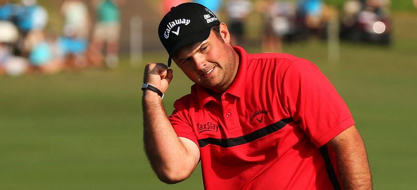 Patrick Reed Celebrates, image: golfchannel.com